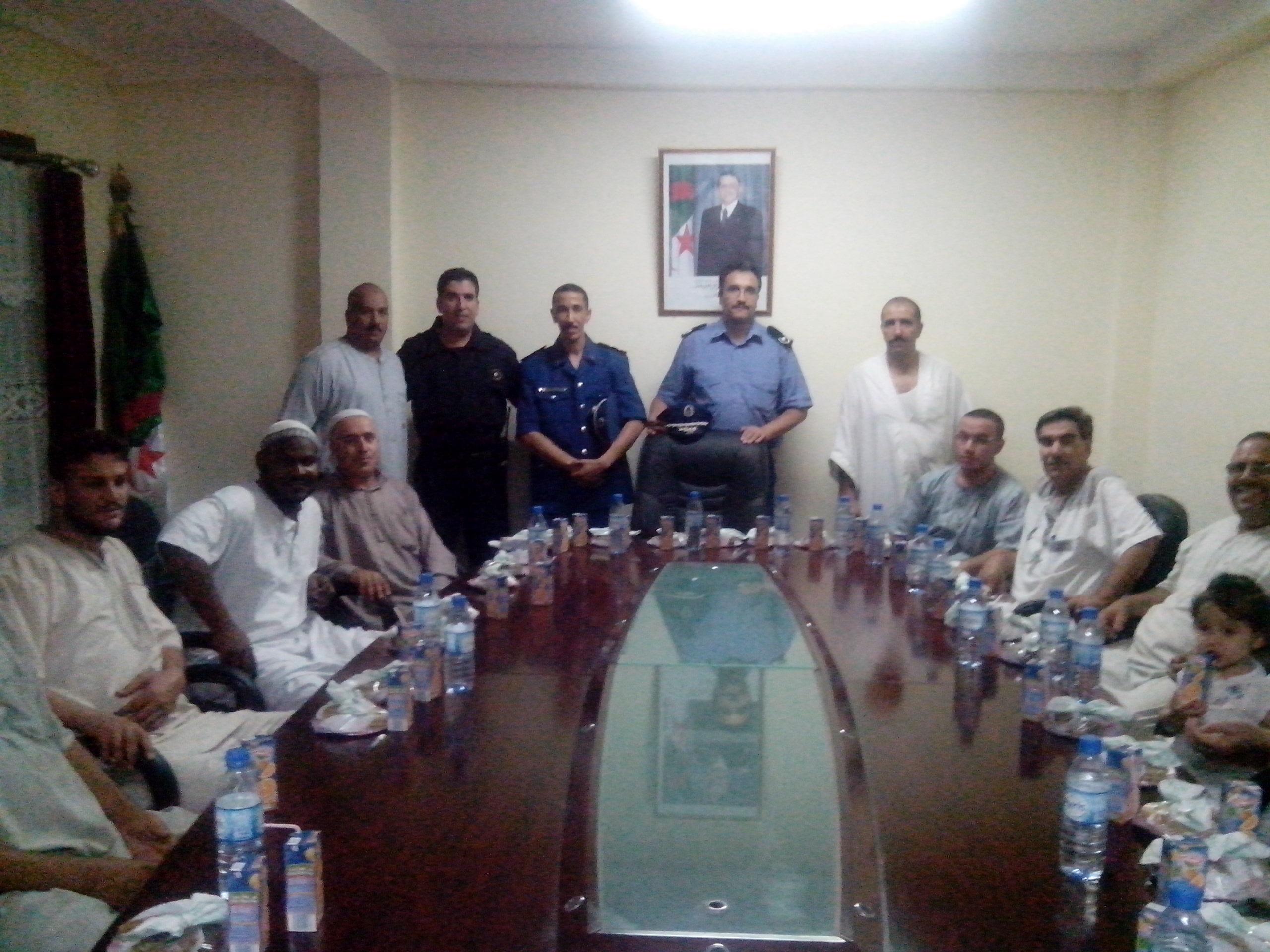 الأمن الحضري الخامس بورقلة  يحتفل بالذكرى الثانية والخمسين للشرطة